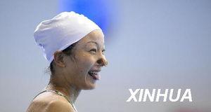 花样游泳 国家花游队进行公开课训练 5