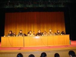 奋战一百天 铸就新辉煌-高三年级隆重举行高考百日冲刺誓师大会
