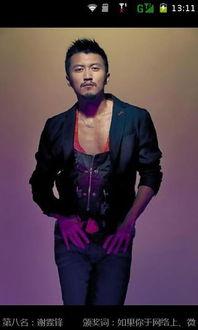 中国最帅男星排行榜
