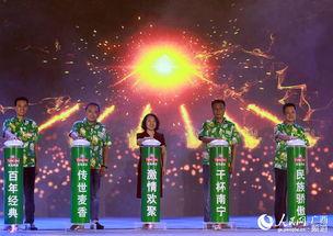 2018年南宁青岛啤酒节开幕
