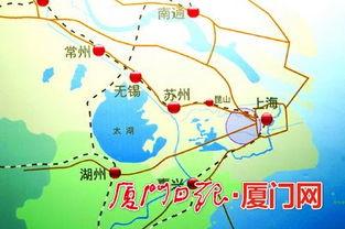花桥距离上海市中心人民广场约40公里,乘地铁仅需约40分钟.-厦漳R...