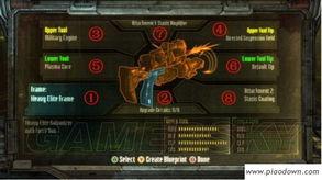在《死亡空间3》中,一把自己制作的武器由最基本的3样构成:...