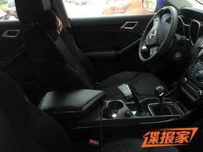 江铃驭胜S330手动挡谍照
