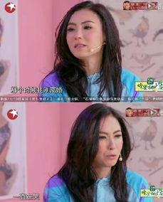 张柏芝美回18岁 自曝与谢霆锋离婚一直哭如今不爱帅哥