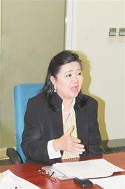 SM 购物中心管理公司总裁Annie S.Garcia女士-Annie S.Garcia女士 看...