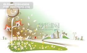 ...7最新韩国风景CDR矢量图010-矢量图设计素材下载 第20页