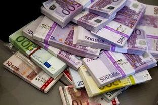 ...得巨额现钞约为10万欧元起初认为是假钞-河中捞得巨额现钞 警方刚...