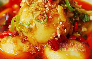 洋芋搅团的制作