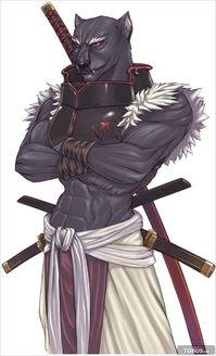 可自由操控三把刀的黑豹型兽人.-光明之心 海贼角色清晰图公布 帅气...