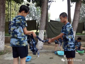 打背包 搭帐篷,学习行军必备技能