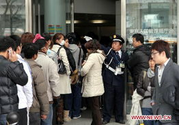 ...igners apply for re entry permits to Japan after quake