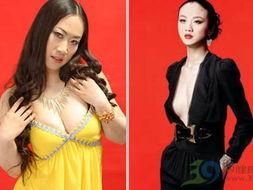 日本人体艺人棵休照-惨遭芙蓉姐姐身体PK的女明星 5