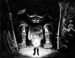 巫刑天下-刑天,下面有两个巫师来到古墓唤醒无头的战神 而他们会如此顺利的控...