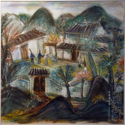 张充仁水彩画《石狮》、俞云阶油... 陈逸飞素描《自画像》等作品展示...