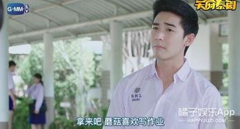 ...017泰国清新校园剧 男主又丧又普通,却打败校草学霸,赢得美人心 ...