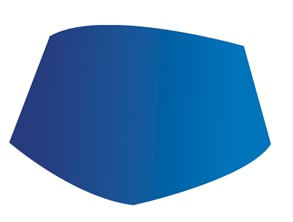 ...下面的的形状,填充渐变,如图-CDR教程 CorelDRAW绘制博士帽教程
