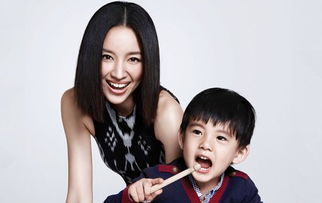 董洁和儿子(资料图)-董洁与潘粤明被曝离婚 互揭对方有 小三