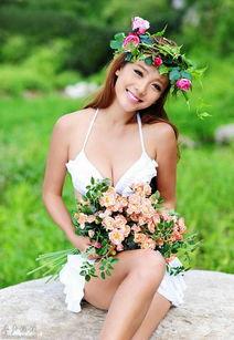 清新气息美女野外唯美 美女人体艺术 美女诱惑 更好好看的美女图片 -...