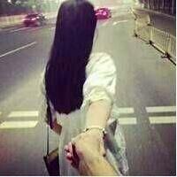 情侣微信头像背影一男一女