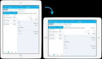 在对界面进行简约化设计之后能够在iPad的更小尺寸屏幕同用户进行交...