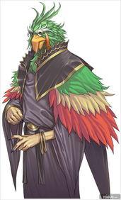 剣獣士   可自由操控三把刀的黑豹型兽人.   常在寻求强敌