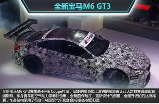 ...(网通社 2015年5月18日 北京报道)-宝马全新M6赛车曝光 车身极轻...