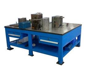 钢板工作台制作过程