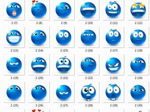 可爱QQ卡通表情控透明底免扣png素材