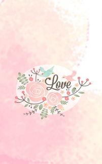 小清新 背景图 壁纸 粉色系列