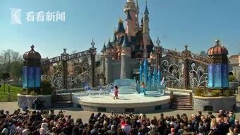 视频 巴黎迪士尼乐园举行多彩游行庆祝开园25周年