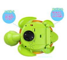 ...电动玩具 塑胶卡通动物婴幼儿宝宝学爬行灯光音乐 下蛋的乌龟