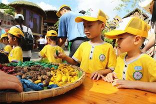...林匹克日 游客激情玩转槟榔谷