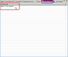 再写一个不同的语句,演示结果集与SQL历史记录.-如何用Eclipse中...