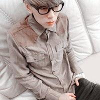 2012独特气质男生头像 懵懵然就爱上那个人