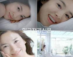宋慧乔广告写真 肌肤水嫩美丽动人