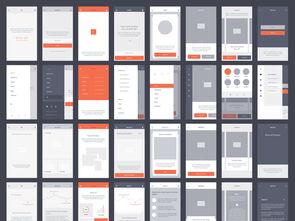 ...全套手机app界面psd模板合集图片下载psd素材 APP界面