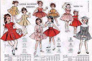 小女孩的裙子绘画设计参考 怎么画裙子
