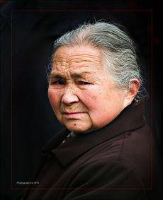 ...非红摄影作品 老妇人