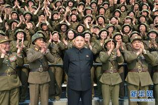 金正恩指导朝鲜女兵发射火箭弹