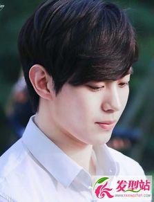 韩式空气刘海发型