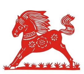 趣味马剪纸图案大全手把手教你制作精美的剪纸马