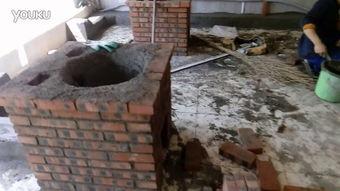...台制作农村厨房柴火灶尺寸地锅台土灶台设计图过自拍