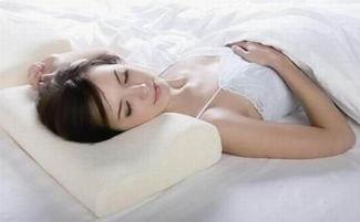 颈椎病患者的正确睡姿