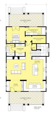新农村自建房15米x9米255平方两层半效果 平面设计图