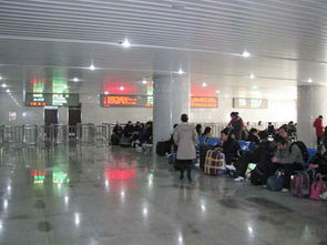 新启用的北京西站南站房候车室
