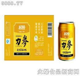 ...力参黄秋葵天然草本口味植物饮料黄色装现面向全国招商