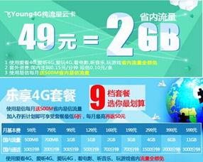 浙江4G套餐 低资费高网速 49元畅享移动互联