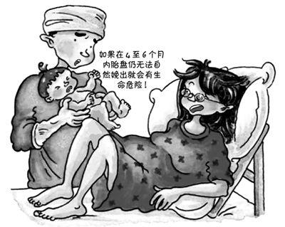 """漫画:""""赴港产子""""险丧命.-孕妇赴港产子胎盘滞留体内被告知命危 ..."""