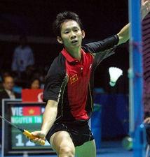 越南羽毛球男单选手 阮天明C