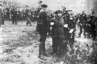 谷寿夫被押赴刑场 资料图片-历史上的今天